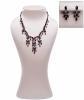 Siman Tu Cascading Garnet Necklace