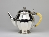 Wolfers Frères, Silver Art Deco coffee and tea set with ivory handles, design 1926 - Philippe Wolfers Frères