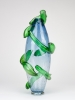 Richard Price, Unique vase with green appliques, 1992 - Richard Price