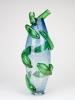 Richard Price, Unieke vaas met groene appliques, 1992 - Richard Price