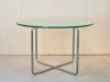 W.H. Gispen, Coffee table with chrome frame and glass tabletop, 1941 - Willem Hendrik (W.H.) Gispen