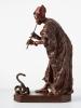 Snake charmer bronze