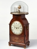 An unusual English mahogany bracket clock with Orrery by Newman & Dolland,circa 1830