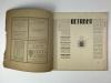 Wendingen, Erich Mendelsohn, cover design Hendrik Wijdeveld, 1920, edition 10 - Hendrik Wijdeveld