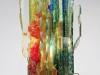 Willem van Oyen for Raak Amsterdam, Glass wall lamp, model Chartres, 1960s - Willem van Oyen