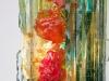 Willem van Oyen voor Raak Amsterdam, Glazen wandlamp, model Chartres, jaren '60 - Willem van Oyen