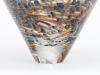 A.D. Copier voor La Verrerie de Biot, Unieke vaas met kleurrijke decoratie, 1989 - Andries Dirk (A.D.) Copier