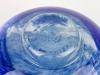 A.D. Copier, Unieke vaas met decoratie van blauwe golven, Noordzee serie, uitvoering De Oude Horn, 1979 - Andries Dirk (A.D.) Copier