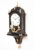 A small Swiss Louis XVI ebonised quarter striking bracket clock, DuComun, circa 1780