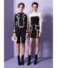 Fall 2013 Moschino Black Bustier Dress - Moschino