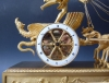 """Cupid's Chariot"", a French Empire gilt bronze figural mantel clock, Le Roy,  Palais Royal à  Paris, c. 1810."