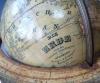 Small world globe, signed Verlag J.G. Klinger, Nürnberg, circa 1850.