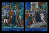 Pair of French enamelled Limoges plaques, attributed to Jean I Reymond