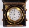 Een fraaie Franse mahoniehouten 2-daagse chronometer, door E. Thomas, omstreeks 1870