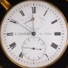 A good French mahogany 2-day chronometer, by E. Thomas, circa 1870
