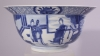 Chinese blue and white porcelain Klapmutsbowl