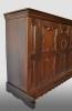German cupboard, oak. First half 18th century.