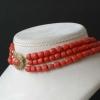 Antique coral necklace