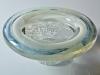 A.D. Copier, Unique thick glass bowl, De Oude Horn, 1979 - Andries Dirk (A.D.) Copier