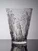 Marc Lalique, Vaas 'Ondines', ontwerp 1952, uitvoering Lalique Crystal France ca. 1960 - Marc Lalique