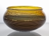 A.D. Copier, Unique glass bowl, executed by Lino Tagliapietra and Bernard Heesen, Studio De Oude Horn, 1990 - Andries Dirk (A.D.) Copier