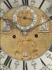 A Dutch Walnut Longcase Clock with Ships Automaton
