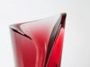 Felicitas Engels-Neuhold, Unique ruby red glass object, 1990s - Felicitas Engels Neuhold