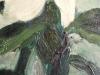 Petrus Theodorus (Piet) van Wijngaerdt, 'Roode en Witte Amaryllis', olieverf op doek, ca. 1925 - Petrus Theodorus (Piet) van Wijngaerdt