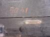 W28 Grote nikkelen Art Deco JL Reutter Drie-Glazen Atmos wandklok.