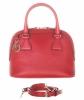 Gucci GG Charm Red Mini Dome Crossbody Bag