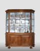 Dutch display cabinet, about 1750.