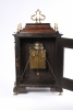 A Swiss mulberry ormolu mounted quarter repeating alarm table timepiece, J. Robert, circa 1700.