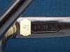 Charles & Ray Eames, Zwartgelakte aluminium Soft Pad eetkamerstoel, model EA 208, uitvoering Vitra/Herman Miller, ontwerp 1969 - Charles & Ray Eames