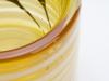Willem Heesen, Unique yellow glass vase, Studio De Oude Horn, 1980 - Willem Heesen