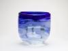 Willem Heesen, Unique blue vase, Studio De Oude Horn, 1979 - Willem Heesen