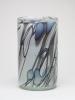 Willem Heesen, Cylindrical vase with line decoration, 'Ligne Linge', De Oude Horn, 1978. - Willem Heesen