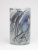 Willem Heesen, Cilindervormige vaas met vrij lijnendecor, 'Ligne Linge', De Oude Horn, 1978 - Willem Heesen