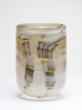 Willem Heesen, Glass cylindrical vase, early one-off, 1979 - Willem Heesen