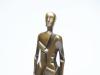 Mario Rossello, Bronzen sculptuur, 'Uomo', 1978 - Mario Rossello