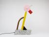 Ettore Sottsass, Lamp 'Tahiti', Memphis Milano, ontwerp 1981, uitvoering ca. 1990 - Ettore Sotsass