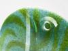 Willem Heesen, Unique glass disc, 'How green is my valley', De Oude Horn, 2002 - Willem Heesen