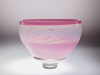A.D. Copier, Unique pink bowl, executed at Studio de Oude Horn, 1982 - Andries Dirk (A.D.) Copier