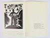 Hildo Krop, Een zevental nieuwjaarskaarten, Houtsnede op papier, 1952-1966 - Hildo (H.L.) Krop