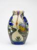 Theo Colenbrander for Plateelbakkerij Zuid-Holland, Ceramic vase with floral motif, ca. 1913 - Theodoor (T.A.C.) Colenbrander