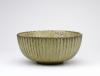 Arne Bang, Green glazed bowl with ribs, stoneware, 1930s - Arne Bang
