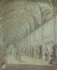 Volpato & Ducros: 'Galleria delle Statue' in the Museo Pio-Clementino