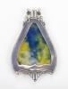 Gerritsen & Van Kempen Zeist, Enameled pendant with decoration of Pegasus, 1930s - Fa. Gerritsen en Van Kempen