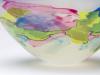 A.D. Copier, Unique bowl with shards of glass overlay, Executed by Bernard Heesen, Studio De Oude Horn, 1989 - Andries Dirk (A.D.) Copier