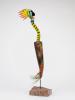 Kjell Engman, Colourful glass sculpture for Kosta Boda, ca. 1990 - Kjell Engman