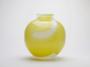 Floris Meydam, Spherical vase with bright yellow decoration, Royal Leerdam Serica, 50-11, ca. 1983 - Floris Meydam